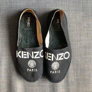 Kenzo Black Espadrilles